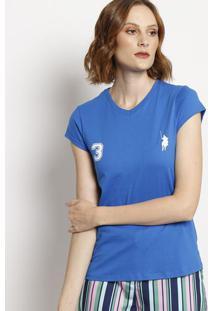 """Camiseta """" Polo 3""""- Azul- Club Polo Collectionclub Polo Collection"""