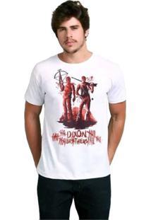 Camiseta Dixon Brothers Geek10 - Branco