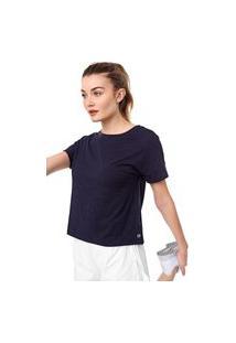 Blusa Gap Lisa Azul-Marinho