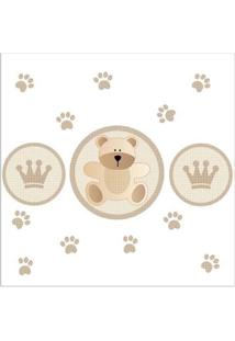 Adesivo De Parede King Baby Bear Grudado Adesivos