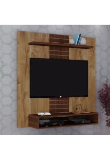 """Painel Para Tv Até 47"""" Smart 14075 Dorale/Conhaque Brilho - Dj Móveis"""