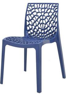 Cadeira Gruver Polipropileno Azul Avio - 34330 - Sun House