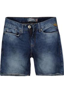 Bermuda Feminina Jeans Slim Jeans