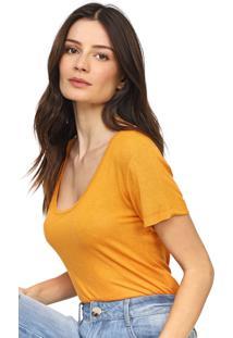 Camiseta Forum Lisa Laranja - Kanui