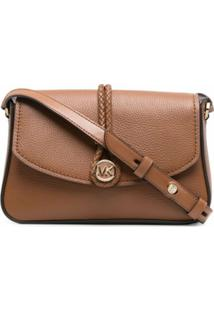 Michael Michael Kors Logo-Detail Shoulder Bag - Marrom
