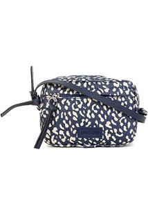 Bolsa Anacapri Mini Bag Pqn Lona Estampada Feminina - Feminino-Jeans
