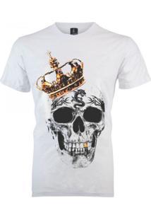 Camiseta João Homor King Skull Branca