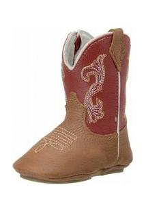 Bota Capelli Texana - Masculino-Vermelho