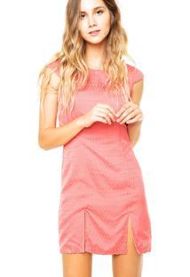Vestido Curto Colcci Fashion Coral