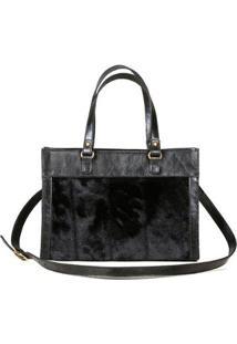 Bolsa Couro Blue Bags Satchel - Unissex