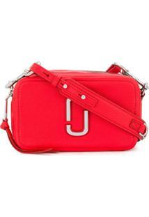 Marc Jacobs Bolsa Transversal The Softshot 21 - Vermelho