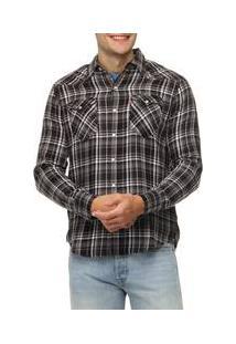 Camiseta Levi'S Graphic Set In Barstow Western Xadrez