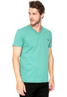 Camiseta Triton Estampada Verde