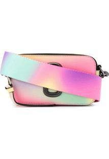 Marc Jacobs Bolsa Snapshot Tie-Dye - Rosa