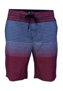 Bermuda Água Hurley Sundet Masculina - Masculino-Vermelho