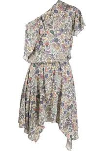 Zadig&Voltaire One Shoulder Draped Dress - Neutro