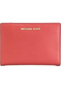Michael Michael Kors Carteira Compacta - Laranja