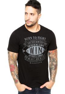 Camiseta Sommer Born Preta