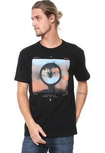 Camiseta Reserva Ponto De Vista Preta