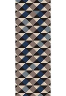 Passadeira Mosaico Argyle Antiderrapante 66X240 Casa Dona Cinza 100% Marca Própria