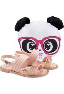 Sandália Grendene Luluca Panda Love 22168 Grendha Rosa