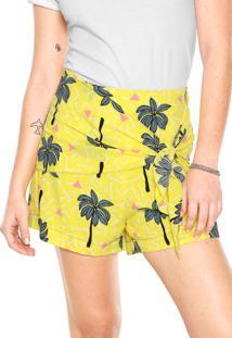 d3b084f20f756 Short Amarelo Oh Boy feminino   Shoelover