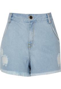 Shorts Jeans Vintage (Jeans Claro, 34)