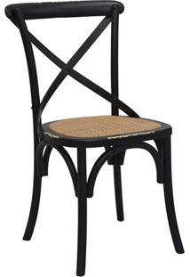 Cadeira Katrina Preta Rivatti Móveis