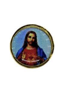 Broche Fiori Sagrado Coração De Jesus
