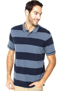 Camisa Polo Richards Tom Azul