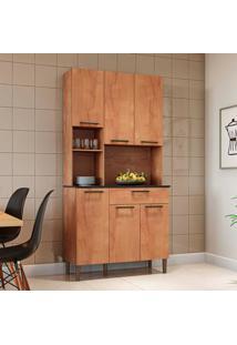 Cozinha Compacta Tannat Gold 6 Pt 1 Gv Castanho