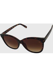 Oculos De Sol Feminino Volpz Madrid Tartaruga
