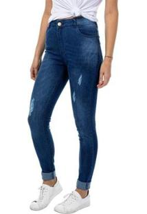 Calça Jeans Skinny Tng Feminina - Feminino