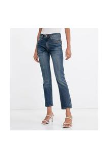 Calça Jeans Reta Lisa | Marfinno | Azul | 40