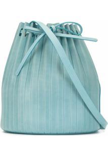 Mansur Gavriel Bolsa Bucket Com Pregas - Azul
