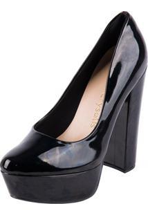 12d60c2e9 Sapato Com Salto Crysalis feminino