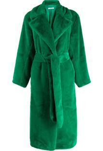 P.A.R.O.S.H. Casaco Oversized - Verde