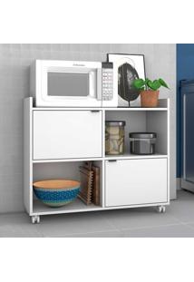Armário De Cozinha 2 Portas Bmu170 Branco - Brv Móveis