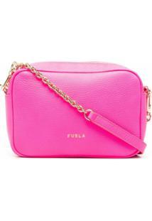 Furla Bolsa Transversal Fluorescente - Rosa