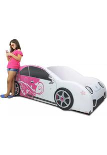 Cama Cama Carro Nb Girls Rosa
