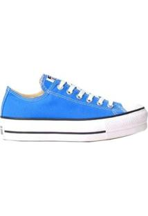 Tênis Converse All Star Chuck Taylor Plataforma Feminino - Azul - Feminino