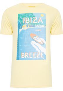 Camiseta Masculina Ibiza - Amarelo
