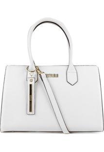Bolsa Santa Lolla Handbag Feminina - Feminino-Off White