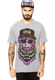 Camiseta Blunt Man Tie Dye Cinza