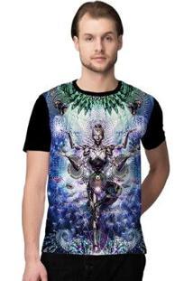 Camiseta Stompy Psicodelica34 Masculina - Masculino-Preto