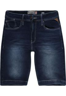 Bermuda Khelf Jeans Azul