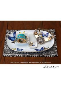 Sopeira Porcelana Schmidt - Dec. Borboletas