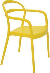 Cadeira Sissi- Amarela- 80,5X57X54Cm- Tramontinatramontina