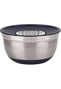 Conjunto German Bowl Inox 8289 Com Ralador 3Em1 Azul Euro Home