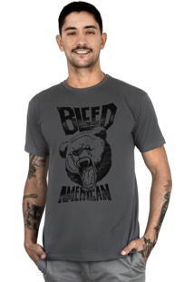 Camiseta Bleed American Killer Bear Chumbo
